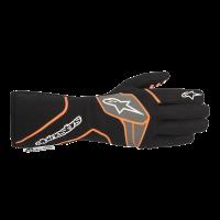 Alpinestars Tech 1 Race v2 Glove - Black/Orange Fluo - Size S