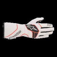 Alpinestars Tech 1 Race v2 Glove - White/Black/Red - Size XL