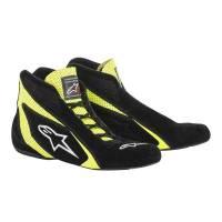 Alpinestars Racing Shoes - Alpinestars SP Shoe - $199.95 - Alpinestars - Alpinestars SP Shoe - Black / Yellow - Size 10.5