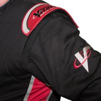 Velocity Race Gear - Velocity 1 Sport Suit - Black/Fluo Yellow - Large - Image 4