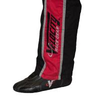 Velocity Race Gear - Velocity 1 Sport Suit - Black/Fluo Yellow - Large - Image 5