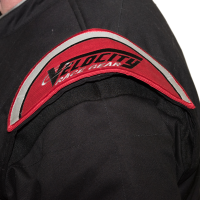 Velocity Race Gear - Velocity 1 Sport Suit - Black/Fluo Yellow - Large - Image 6