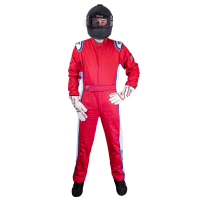 Velocity Race Gear Race Suits - Velocity 5 Patriot Suit - SALE $249.99 - SAVE $80 - Velocity Race Gear - Velocity 5 Patriot Suit - Red/White/Blue - Large