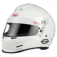 SUMMER SIZZLER SALE! - Bell Helmets - Bell GP.2 Youth Helmet - White - XS  (55-56) SFI24.1