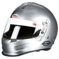 Kids Race Gear - Kids Helmets - Bell Helmets - Bell GP.2 Youth Helmet - Metallic Silver - XS (55-56) SFI24.1