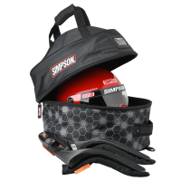 Crew Apparel & Collectibles - Gear Bags - Simpson Performance Products - Simpson Helmet and FHR Combo Bag