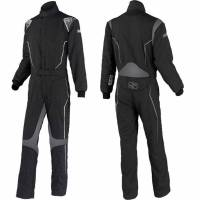 Kids Race Gear - Simpson Performance Products - Simpson Helix Youth Suit - Black/Gray - Large