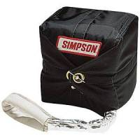 Safety Equipment - Simpson Performance Products - Simpson 10 Ft. Skyjacker Drag Parachute - Black w/ Simpson Logo