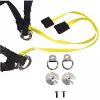 Simpson Performance Products - Simpson Hybrid ProLite - Large - Sliding Tether - Quick Release Tethers - D-Ring Kit - Image 8