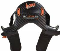 Head & Neck Restraints - HANS Device - Hans Performance Products - HANS Pro Ultra Lite Device - 20 - Medium - Post Anchor - Sliding Tether - FIA/SFI
