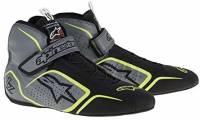 SUMMER SIZZLER SALE! - Racing Shoe Sale - Alpinestars - Alpinestars Tech 1-Z Shoe - Antrachite/Black/Yellow Fluo - Size 10