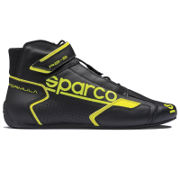 SUMMER SIZZLER SALE! - Sparco - Sparco Formula RB-8.1 Racing Shoe - Black / Yellow - Size: 12 / Euro 46