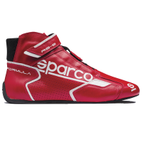 SUMMER SIZZLER SALE! - Sparco - Sparco Formula RB-8.1 Racing Shoe - Red / White - Size: 11.5 / Euro 45