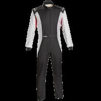 LABOR DAY SALE! - Racing Suit Sale - Sparco - Sparco Competition US Boot Cut Suit - Black/White - Size: 58