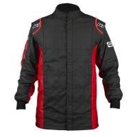 Racing Suits - Drag Racing Suits - K1 RaceGear - K1 RaceGear Sportsman Jacket (Only) - Black/Red - Size: Medium/Large / Euro 54
