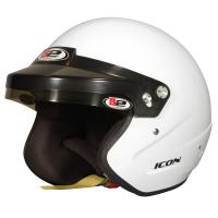 Helmets - HELMET CLEARANCE SALE! - B2 Helmets - B2 Icon Helmet - White - Small
