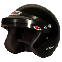 B2 Helmets - B2 Icon Helmet - Metallic Black - Medium