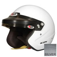 B2 Helmets - B2 Icon Helmet - Metallic Silver - X-Large