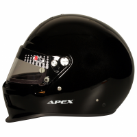 B2 Helmets - B2 Apex Helmet - Metallic Black - Small - Image 3