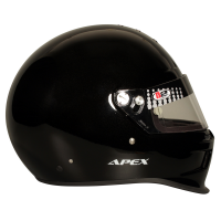 B2 Helmets - B2 Apex Helmet - Metallic Black - Small - Image 5