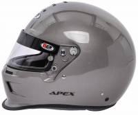 B2 Helmets - B2 ApexHelmet - Metallic Silver - Large - Image 2