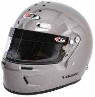 B2 Helmets - ON SALE! - B2 Vision Helmet - SALE $239.99 - SAVE $40 - B2 Helmets - B2 Vision Helmet - Metallic Silver - Small