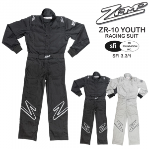 Racing Suits - Youth Racing Suits - Zamp ZR-10 Youth Race Suits - $98.96
