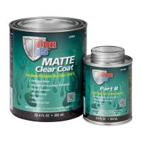 POR-15 - POR-15 Clear Coat - Activator Included - Urethane - Matte Clear - 1 Quart Can