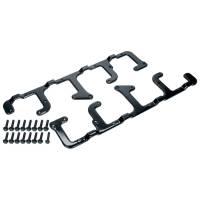 Ignition Coils Parts & Accessories - Ignition Coil Brackets - Allstar Performance - Allstar Performance Ignition Coil Bracket - Coil Pack Style - Over Valve Cover - Aluminum - Black Anodize - D510C Coils - GM LS-Series