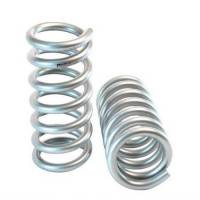 "Springs - Lowering Spring Kits - Belltech - Belltech Muscle Car Front Spring Set - 1"" Lowering - Silver Powder Coat - Ford Cougar / Mustang 1964-69"