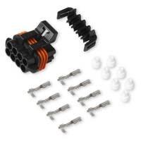 Fuel Injection Systems and Components - Electronic - Fuel Injector Adapters - Holley Performance Products - Holley Input/Output Connector Kit - Female