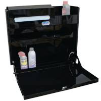 """Trailer Storage Cabinets, Shelves & Tables - Cabinets - Hepfner Racing Products - Hepfner Racing Products Work Station - Large - 23"""" x 23"""" - Black"""