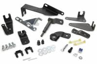 Shifter Brackets, Cables and Linkages - Shifter Installation Kits - Hurst Shifters - Hurst Shifter Installation Kit - Steel - Hurst Quarter Stick Shifter