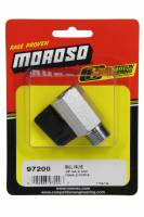 "Fuel System Fittings, Adapters and Filters - Fuel System Shut-Off Valves - Moroso Performance Products - Moroso Shut Off Valve - Manual - 3/8"" NPT Male to 3/8"" NPT Female - Steel"