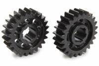 Midget Driveline & Rear Suspension - Midget Quick Change Gears - SCS Gears - SCS Quick Change Gear Set - 6 Spline - Set 61 - 4.11 Ratio 4.11 / 4.11 - 4.33 Ratio 4.33 / 4.33