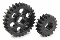 Midget Driveline & Rear Suspension - Midget Quick Change Gears - SCS Gears - SCS Quick Change Gear Set - 6 Spline - Set 613 - 4.11 Ratio 2.64 / 6.39 - 4.33 Ratio 2.78 / 6.74