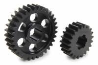 Midget Driveline & Rear Suspension - Midget Quick Change Gears - SCS Gears - SCS Quick Change Gear Set - 6 Spline - Set 614 - 4.11 Ratio 2.62 / 6.46 - 4.33 Ratio 2.76 / 6.80