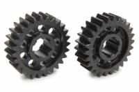 Midget Driveline & Rear Suspension - Midget Quick Change Gears - SCS Gears - SCS Quick Change Gear Set - 6 Spline - Set 62 - 4.11 Ratio 3.96 / 4.27 - 4.33 Ratio 4.17 / 4.50