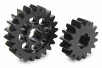 Midget Driveline & Rear Suspension - Midget Quick Change Gears - SCS Gears - SCS Quick Change Gear Set - 6 Spline - Set 623 - 4.11 Ratio 2.99 / 5.65 - 4.33 Ratio 3.15 / 5.95