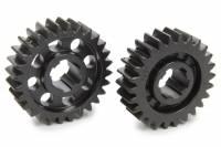 Midget Driveline & Rear Suspension - Midget Quick Change Gears - SCS Gears - SCS Quick Change Gear Set - 6 Spline - Set 63 - 4.11 Ratio 3.82 / 4.43 - 4.33 Ratio 4.02 / 4.66