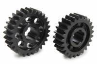 Midget Driveline & Rear Suspension - Midget Quick Change Gears - SCS Gears - SCS Quick Change Gear Set - 6 Spline - Set 63B - 4.11 Ratio 3.67 / 4.60 - 4.33 Ratio 3.87 / 4.85