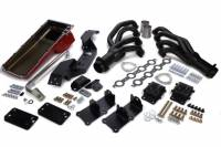 Exhaust System - Engine Swap Kits - Trans-Dapt Performance - Trans-Dapt Swap-In-A-Box Engine Conversion Kit  -  Automatic Transmission  -  LS Series  -  GM Full - Size Truck 1967 - 72