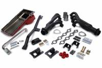 Exhaust System - Engine Swap Kits - Trans-Dapt Performance - Trans-Dapt Swap-In-A-Box Engine Conversion Kit  -  Auto / Manual Trans  -  LS Series  -  GM Full - Size Truck 1967 - 72