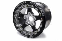 "Wheels and Tire Accessories - Weld Racing - Weld Chevrolet Performance Track Attack Series Wheel - 16 x 10"" - 7.00"" Back Spacing - 5 x 120 mm Bolt Pattern - Single Beadlock - Aluminum - Black"
