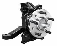 "Steering Components - Wilwood Engineering - Wilwood C10 Pro 2.5"" Drop Spindle - Aluminum - Black Powder Coat - GM Full-Size Truck 1963-70"