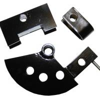 "Tools & Pit Equipment - Woodward Fab - Woodward Fab Round Tubing Die - 180 Degree - 4"" Radius - Steel - 1-1/4"" OD Tubing"
