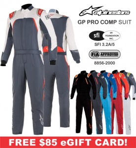 Racing Suits - Alpinestars Racing Suits - Alpinestars GP Pro Comp Boot Cut Suit - $849.95