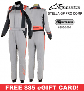 Racing Suits - Alpinestars Racing Suits - Alpinestars Stella GP Pro Comp FIA Suit - $849.95