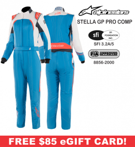 Racing Suits - Alpinestars Racing Suits - Alpinestars Stella GP Pro Comp Suit - $849.95