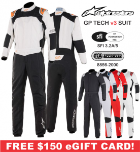 Racing Suits - Alpinestars Racing Suits - Alpinestars GP Tech v3 Suit - CLEARANCE $1124.96 - SAVE $1499.95